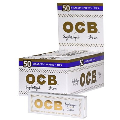 OCB Sophistigni 1 1/4 CigarettePaper With Tips  32CT/PACK