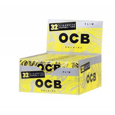 OCB Sophistigni King Size CigarettePaper With Tips  32CT/PACK