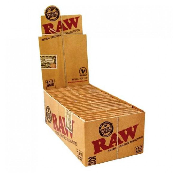 Raw Classic 1 1 2 25ct Pack Right Choice Distributors Inc