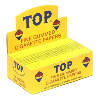 Top Cigarette Rolling Papers 24CT/PACK