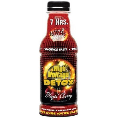 Detox High Voltage Blazing Cherry 16 OZ