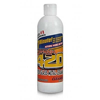 Formula 420 Cleaner - Pyrex, Glass, Metal and Ceramic - 12oz