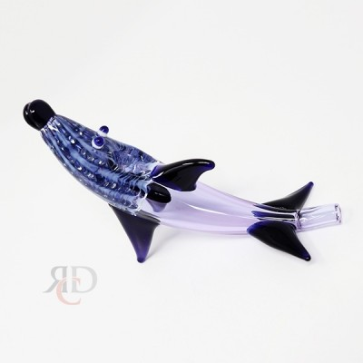 PURPLE FANCY DOLPHIN ANML74 1CT