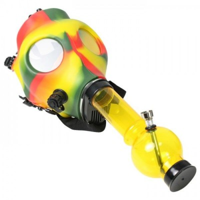 Gas Mask with water pipe 1CT