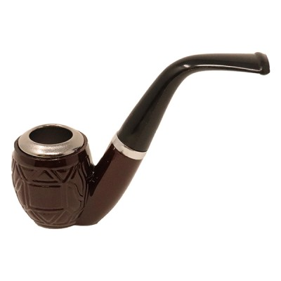 SMOKING WOOD PIPE SWP90